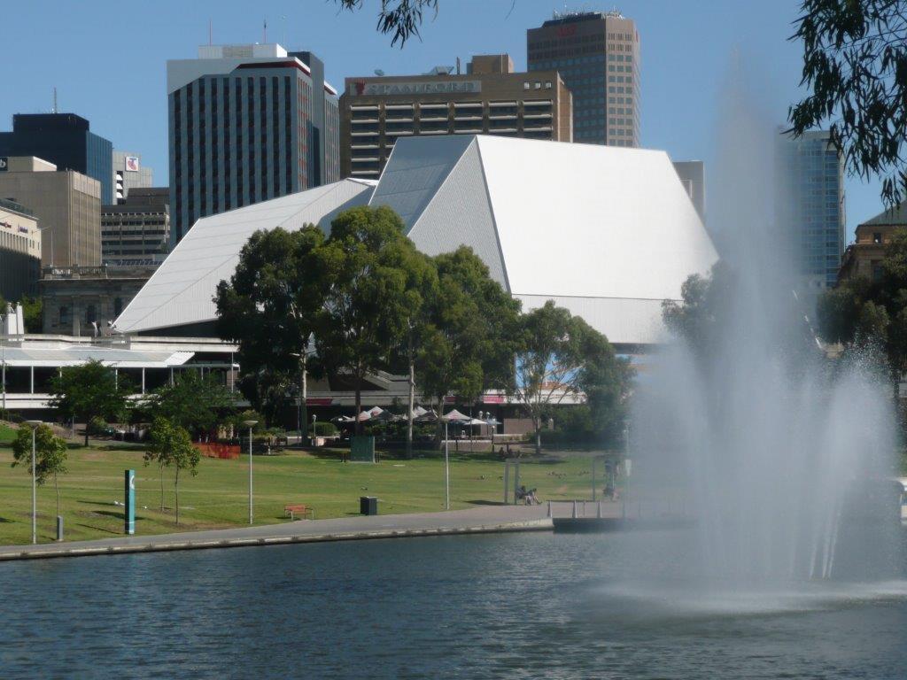 Building Design Adelaide Festival Theatre