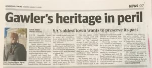 Gawler Heritage Planning Law Issues