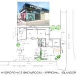 Hydroponics Showroom Approval
