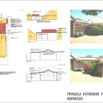 Pergola Extension To A House Norwood