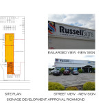 Signage Development Approval Richmond