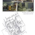 Television Station Interior Office Design