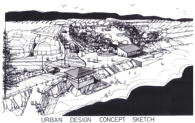Urban Planning Concepts Urban Design Concept Sketch