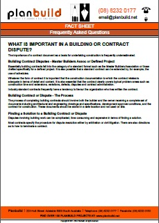 What-is-important-in-a-building-or-contract-dispute